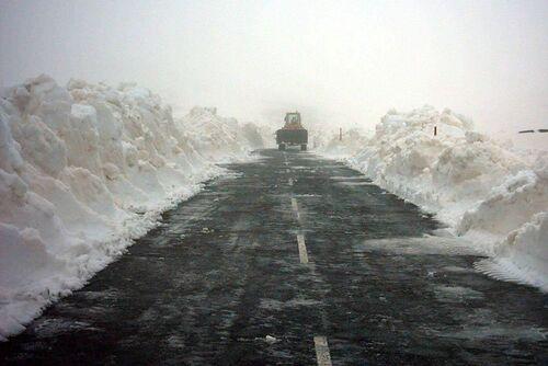 Canaries : le Teide est sous la neige ...