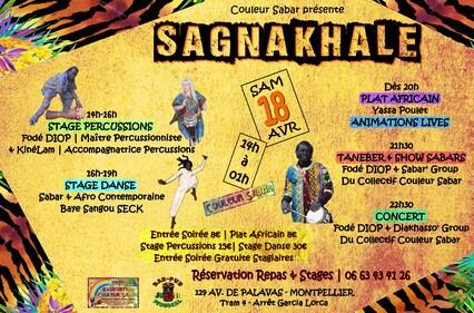 ★ Stages Percussions / Djembés & Sabars