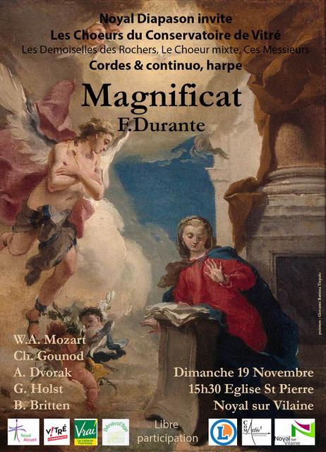 - 19/11/2017 : Magnificat F.Durant