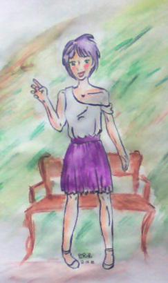 Concours de dessin d'Elinwë