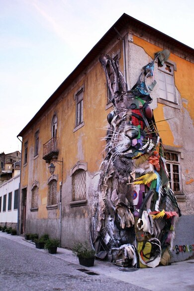 12 - Art street, lapins
