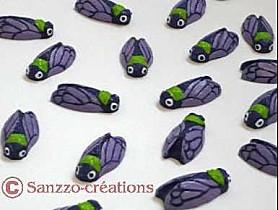http://sanzzo-creations.over-blog.com cigales à vos couleurs - Arts et Sculpture: sculpteur mouleur