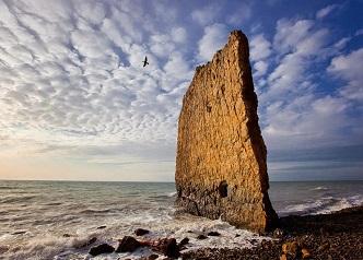 Les voiles de pierre ...