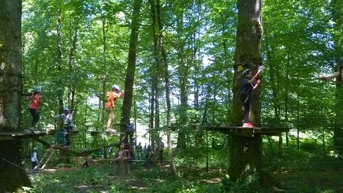 Journée accrobranche au Chêne Perché de Signy-L'Abbaye (2)