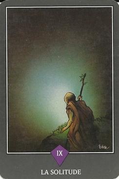 Tarot Zen - La Solitude