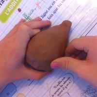 modeler la forme du hérisson