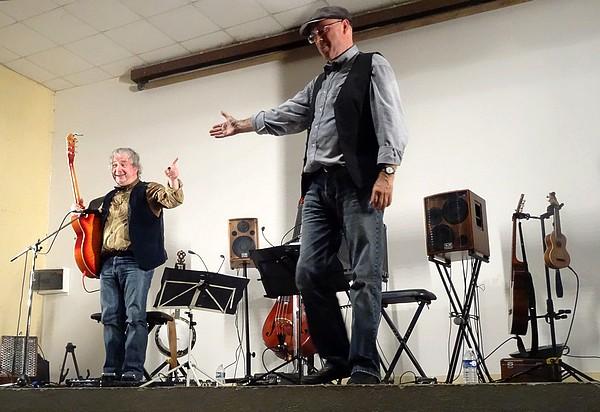 """Concert des """"Tractions Avant"""" à Recey sur Ource"""