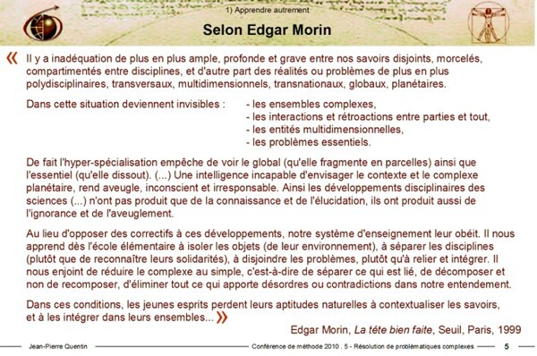 Citation d'Edgar Morin