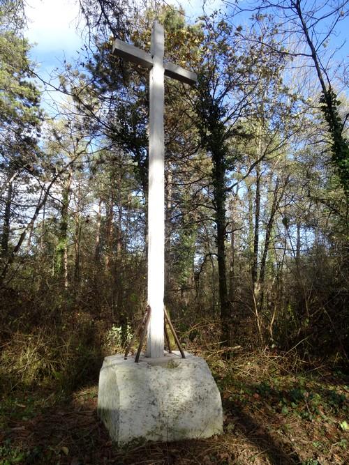 La croix du Mont Roussillon