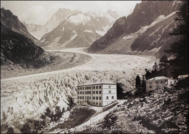 Mer de glace à Chamonix - Mont Blanc