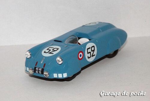 4cv Barquette Vernet-Pairard Le Mans1953 N°52