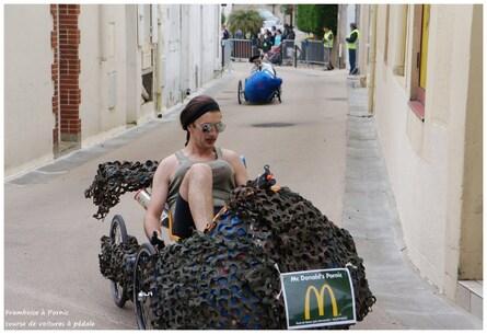 Course voitures à pédales à Ste Marie/Mer 2013