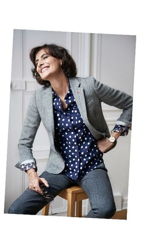 Tweed-shopping: Uniqlo avec Ines de la Fressange