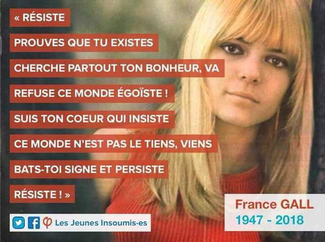 Décès de France Gall