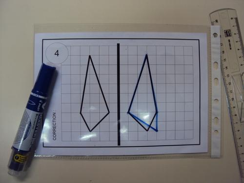 Pochettes auto-correctives symétrie