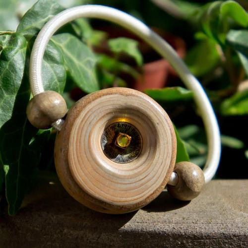bracelet élastique bois de cyprés