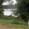 Ancienne borne d'Ocrtoi le long des berges de la Loire