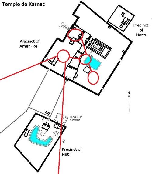 Les salles souterraines et souterrain sous le Temple de Karnak, le 28 10 2014. (Albert Fagioli)