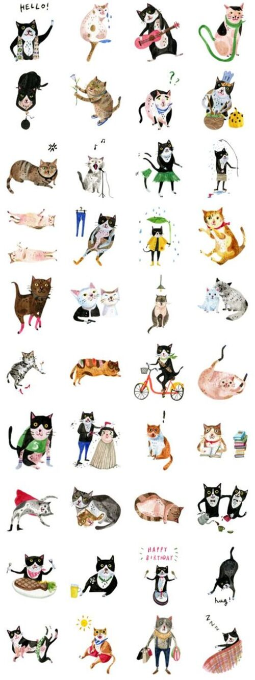 Cats types fantaisies(suite)