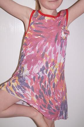 des petites robes colorées pour l'été.