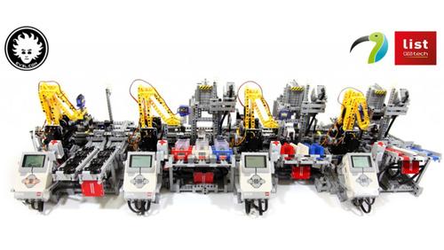 Une impressionnante usine de voitures… en LEGO !