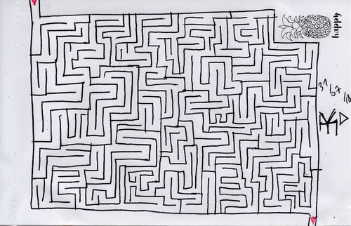 Un petit labyrinthe (encore un)