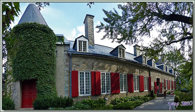Château Ramezay, 1756 (Musée) - Montréal - Québec - Canada