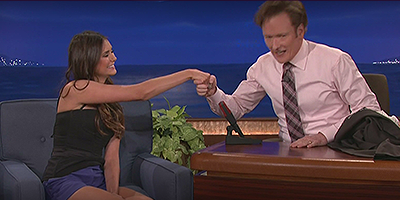 Nina Dobrev :: Late Night with Conan O'Brien