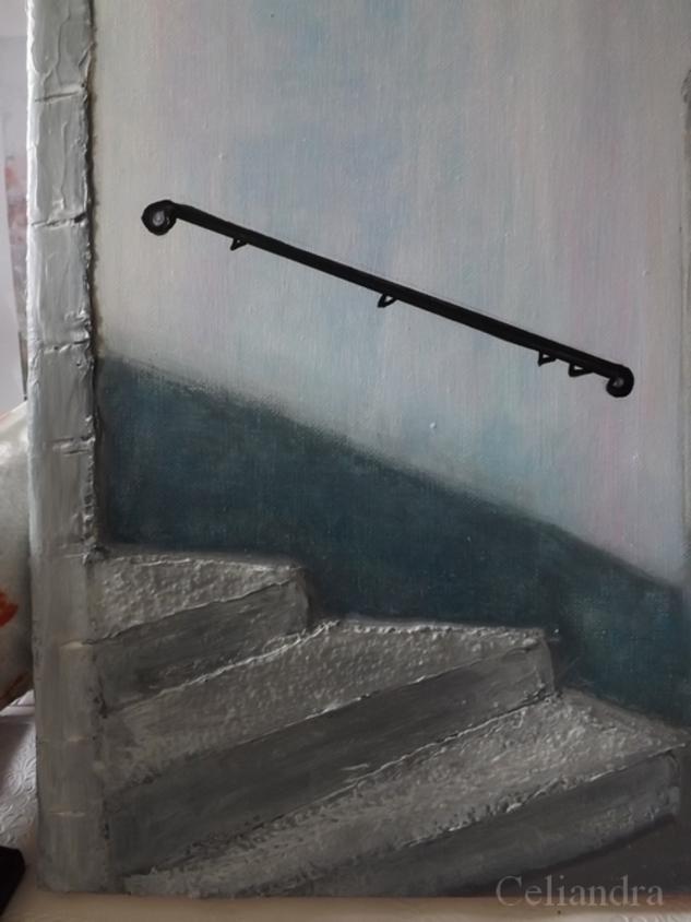 peinture Escalier...