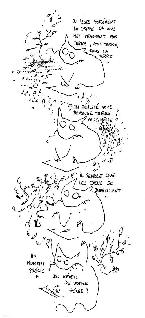 Vers la terre