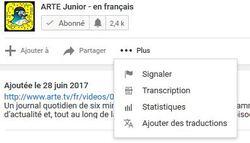 Astuce : Utiliser la transcription de Youtube pour gagner du temps.