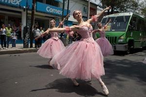 dance ballet outdoor ballet ardentia danza compania mexico city ballet