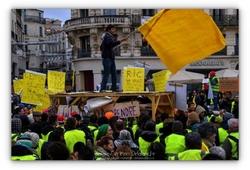 Gilets jaunes Montpellier - 11/2018