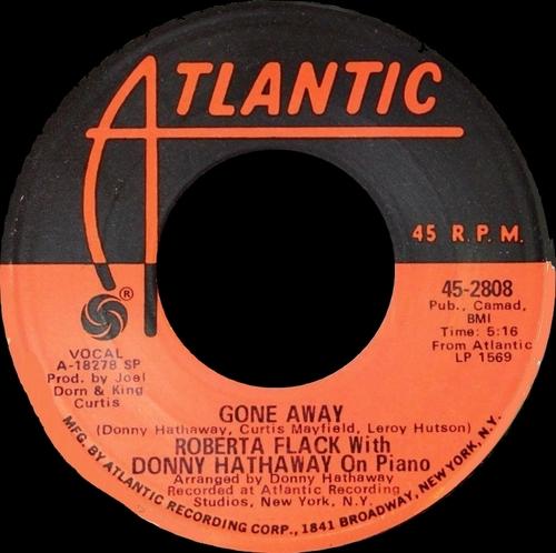 "Roberta Flack & Donny Hathaway : Album "" Roberta Flack & Donny Hathaway "" Atlantic Records SD 7216 [ US ]"
