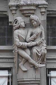 Le couple d'amoureux