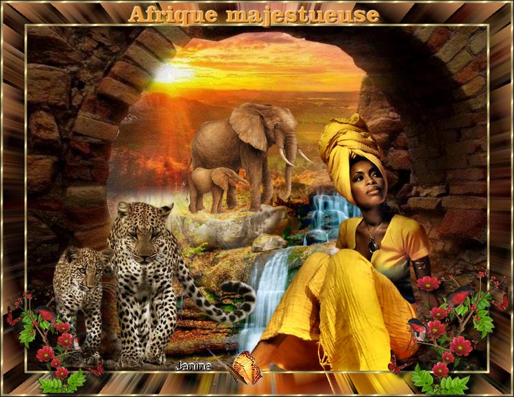 Défi de Chris Afrique Majestueuse