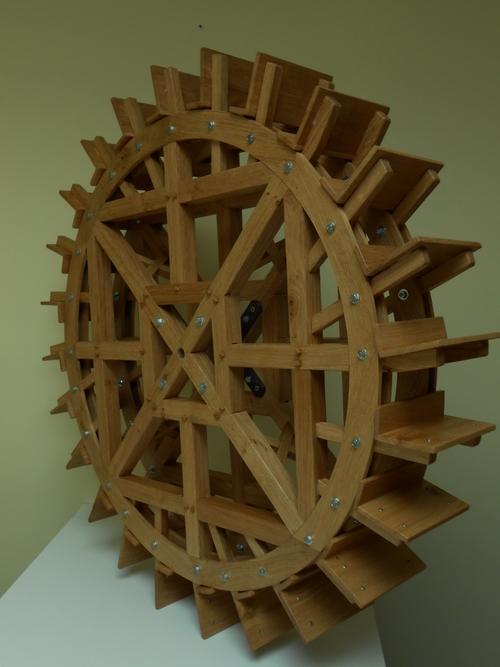 Fabrication d'une roue moulin miniature
