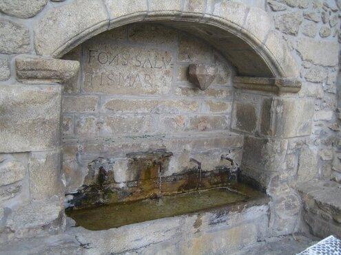 La fontaine de l'Ermitage de Font-Romeu