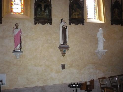 Fin des travaux à l'église de Thédirac
