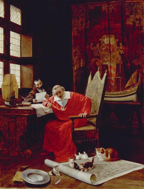 Les quatorze chats du cardinal de Richelieu.