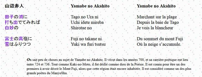 Voyage en poésie : le Japon