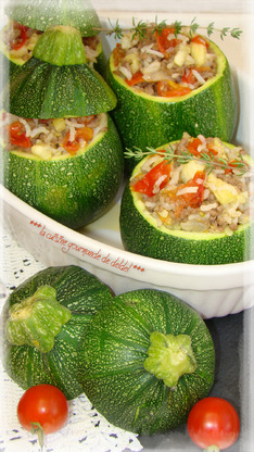 COURGETTES FARCIS