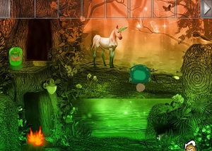 Jouer àUnicorn fantasy valley escape