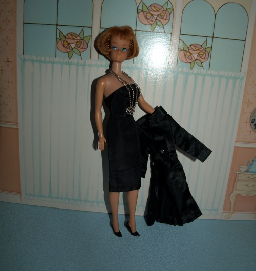 Barbie vintage : Satin Coat