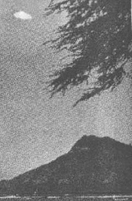 Another of the most famous UFO photographs ever taken, this was shot by Joseph Sigel on June 18, 1959 in Waikiki, Hawaii
