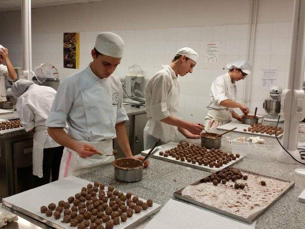 L'atelier chocolat des TER 1