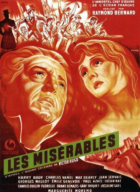 "Box-office France 1934 - De ""Léopold le bien-aimé"" à Les misérables"""