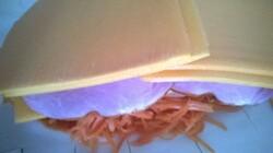 feuilleté carottes, porc, fromage