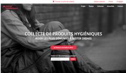 Collecte de protections hygiéniques pour les femmes sans abri