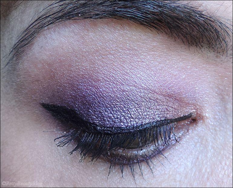 Retour à mes amours : maquillage violet